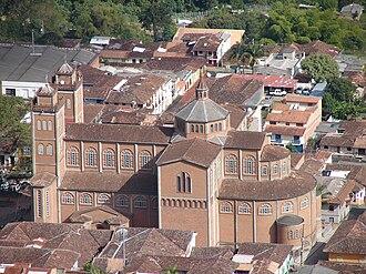 Jericó, Antioquia - Image: Catedral de Jericó antioquia