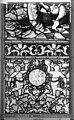 Cathédrale - Vitrail, Chapelle Saint-Joseph, Vie de saint Romain, lancette de gauche, troisième panneau, en haut - Rouen - Médiathèque de l'architecture et du patrimoine - APMH00031310.jpg