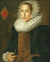 Copy of portrait of Aletta Hanemans