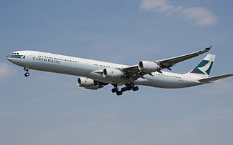 Cathay Pacific - Cathay Pacific operated three A340-600 from 2002 to 2009