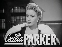 Cecilia Parker in Grand Central Murder trailer.jpg