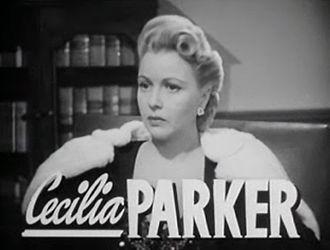 Grand Central Murder - Image: Cecilia Parker in Grand Central Murder trailer