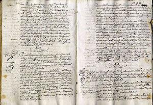 Archivo General de Simancas - Image: Cedulario del Consejo de Guerra (1600)