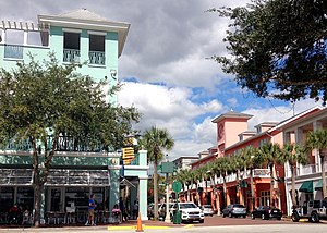 New Urbanism - Market Street, Celebration, Florida