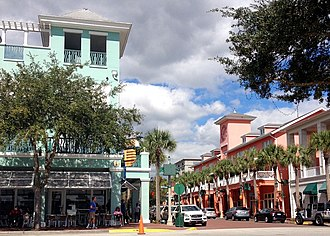 New Urbanism - Market Street, Celebration, Florida
