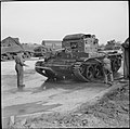 Centaur tank being washed in Leicester 1939-45 H37812.jpg