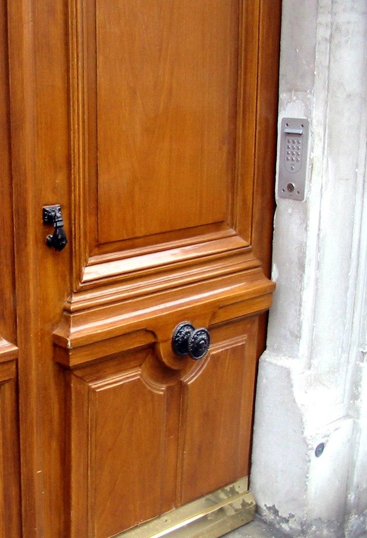 Door Handle Howling Pixel