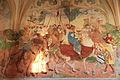 """Cerkev sv. Primoža in Felicijana - freska """"Sv. Trije kralji"""" (l. 1504).jpg"""