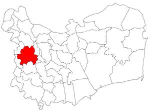 Cerna, Tulcea - Image: Cerna jud Tulcea