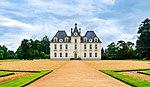 Le château de Moulinsart d'après une photographie modifiée du château de Cheverny.
