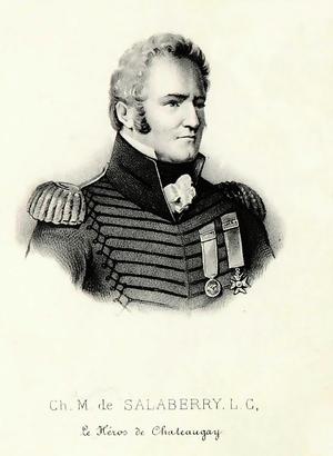 Charles de Salaberry - Image: Ch M de Salaberry le héros de Châteaugay (détail)