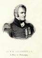 Ch M de Salaberry - le héros de Châteaugay (détail).PNG