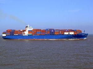 Chaiten p6 approaching Port of Rotterdam, Holland 08-Mar-2007.jpg