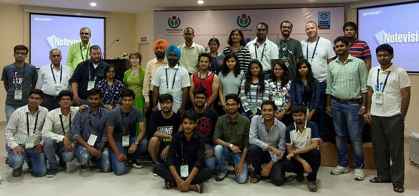 Chandigarh Hackathon Group Photo Wiki Conference India 2016
