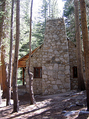 Paul Williams (architect) - Lon Chaney High Sierra House designed by Williams - Inyo National Forest
