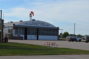 Chanute Martin Johnson Airport - Image: Chanute Martin Johnson Airport Chanute Kansas 09 04 2013