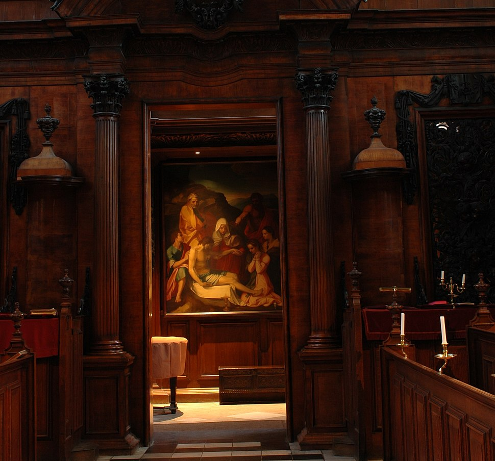 Chapel at Trinity college oxford