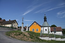 Chapel in Polanky in Plzen-South District in 2011 (3).JPG