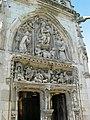 Chapelle Saint-Hubert, façade, château d'Amboise.JPG