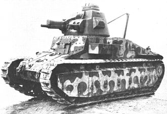 Char D1 - D1 with ST2 turret in 1936