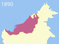 Charles Brooke territorial acquisition (1890).png
