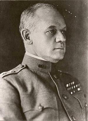 Charles T. Menoher - Major General Charles T. Menoher