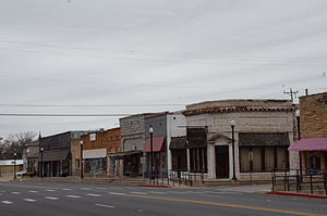 National Register of Historic Places listings in Franklin County, Arkansas - Image: Charleston Commercial Historic District