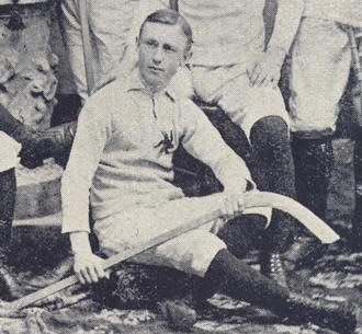 Chauncey Kirby - Chauncey Kirby in the 1892 Ottawa Hockey Club photo