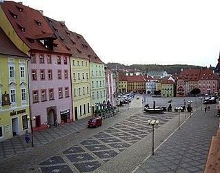 Cheb Town in Czech Republic