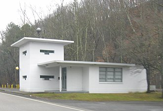 National Register of Historic Places listings in Anderson County, Tennessee - Image: Checking Statoin midtown Oak Ridge