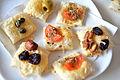 Cheese nibbles dish (16370663623).jpg