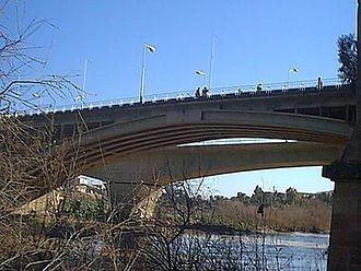 Chelif River - Cheliff Bridge nearby Ech Cheliff