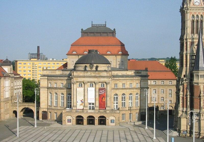 Chemnitz Opernhaus 2002