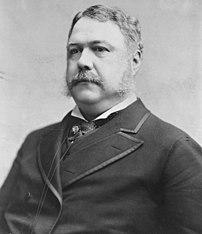 President Chester Alan Arthur of Vermont