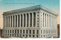 Chicago City Hall postage stamped November 9, 1914 postcard (front).tiff