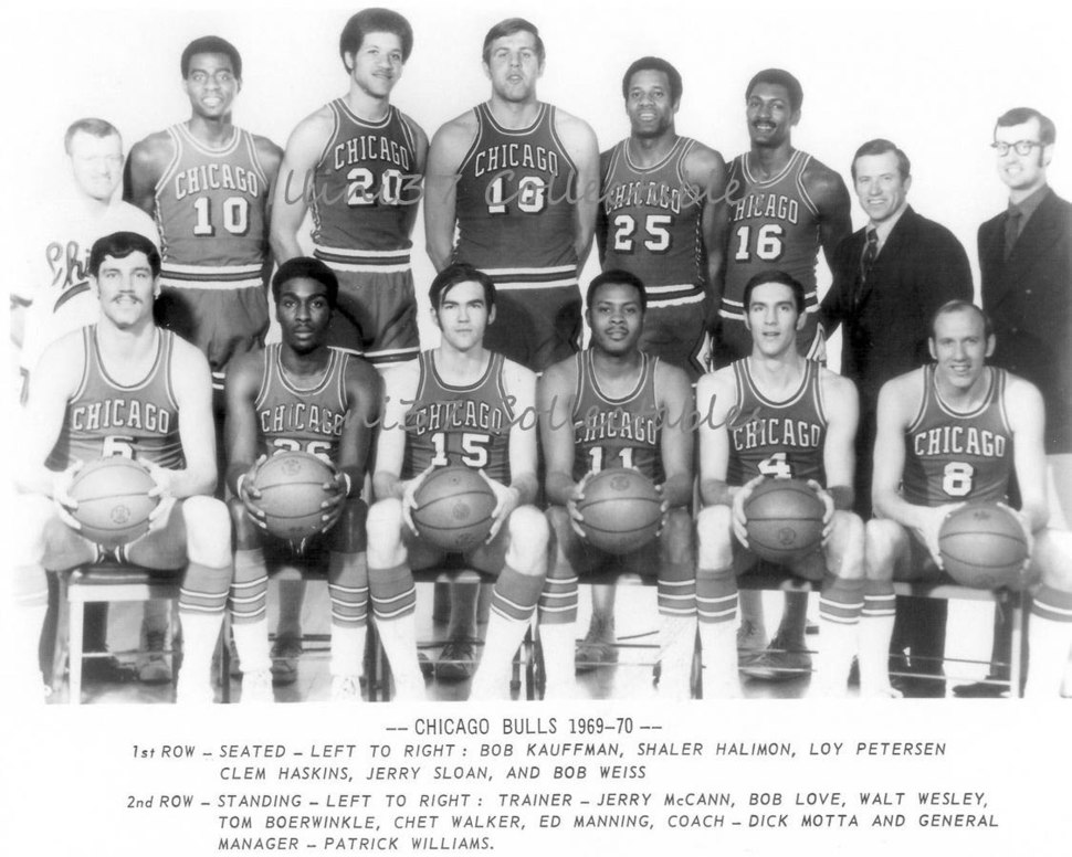 Chicago bulls 1969-70 team