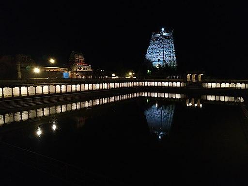 Chidambaram siva Temple nightview
