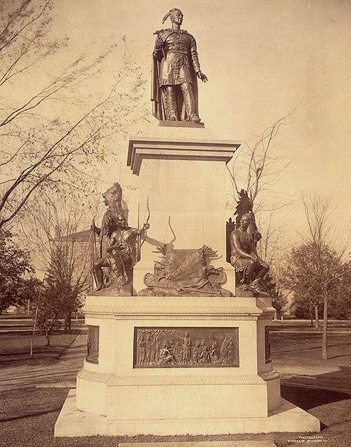 Chief Joseph Brant Memorial Brantford Ontario 1886 Monument %C3%A0 la m%C3%A9moire du chef Joseph Brant Memorial Brantford (Ontario) 1886