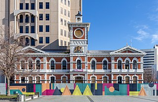 Chief Post Office, Christchurch building in Christchurch, New Zealand