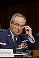 Chief of Staff of the U.S. Air Force Gen. Mark A. Welsh III sits on a panel of military leaders testifying before the Senate Armed Services Committee in Washington, D.C., June 4, 2013 130604-A-HU462-267.jpg