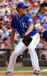 Chien-Ming Wang baseball player from Taiwan