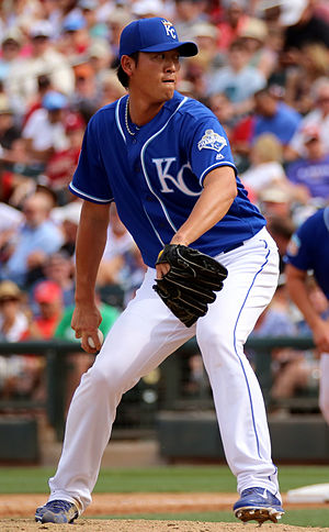Chien-Ming Wang - Wang as a non-roster invitee for the Kansas City Royals in 2016 spring training
