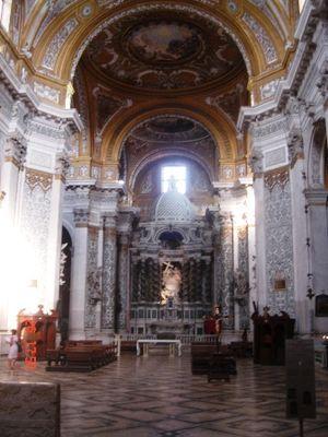 Chiesa Gesuiti Venezia altare