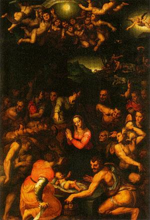 Santo Stefano dei Cavalieri, Pisa - Bronzino, Birth of Christ