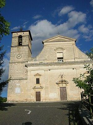Poggio Picenze - Church of San Felice Martire.