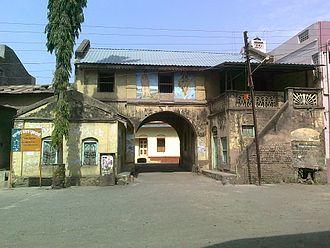 Chinawal - Gaanv Darwaja (Village Gate) of Chinawal village