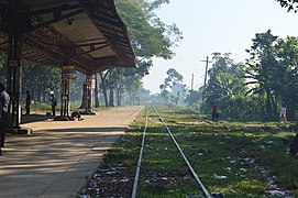 Chittagong University Railway station (05).jpg
