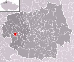 Location of Chodovlice