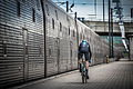 Chris Froome - The First Man to Cycle through the Eurotunnel (14613629523).jpg