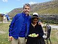 Chris Kilham with Dona Sophia - Peruvian Highlands by Zoe Helene.jpg